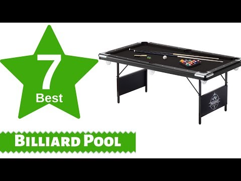 Best 7 Billiard Pool Tables For Home Games With Prices List