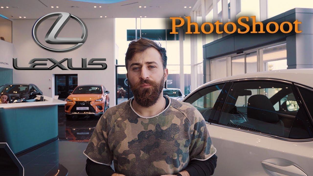 Lexus Tbilisi Photoshoot – Giorgi danelias vlog