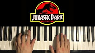 Baixar How To Play - JURASSIC PARK - Theme Song (PIANO TUTORIAL LESSON)