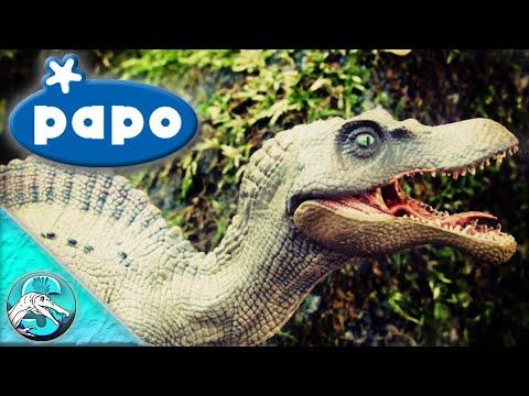 Papo 2018 Juvenile Spinosaurus Review! || Baby JP3 Spino!