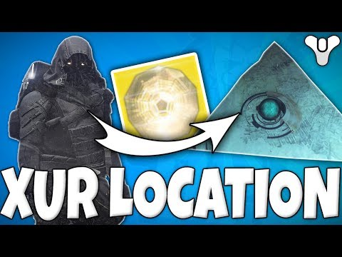 Destiny 2 - Hidden XUR VENDOR LOOT LOCATION FOUND?!
