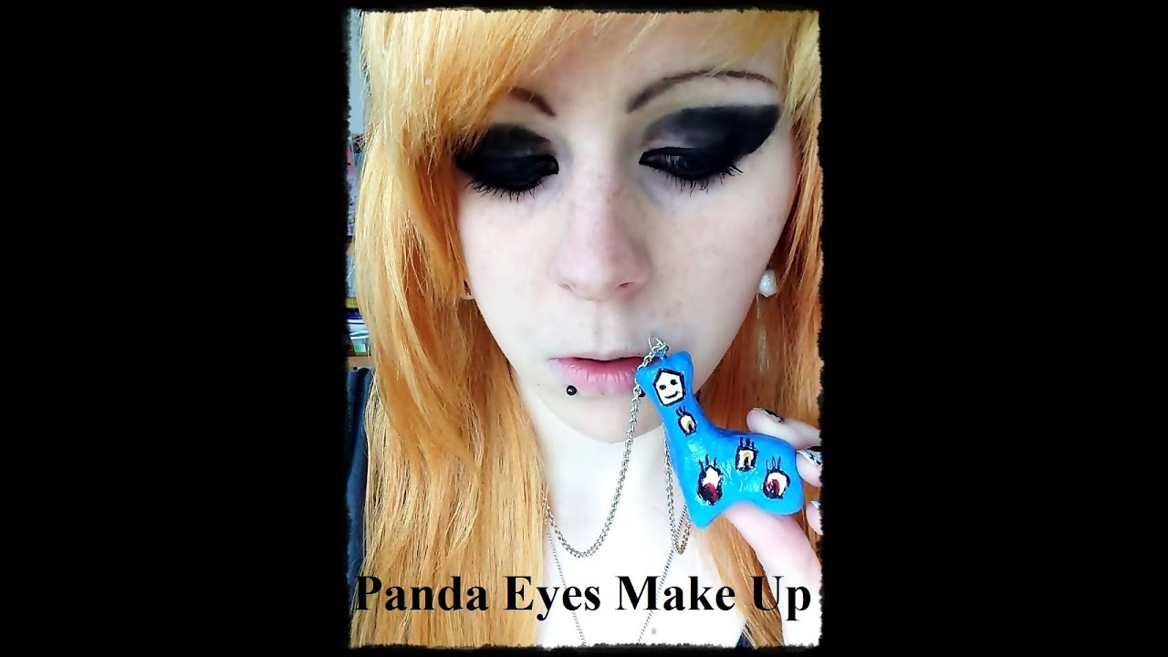 Youtube Eye Makeup Tutorial: Panda Eyes Make Up Tutorial (ger)