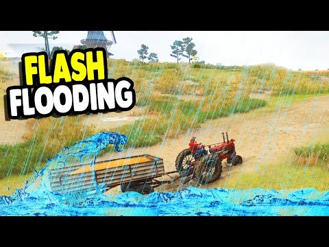 Farming Simulator on FLOODED Fields | Farmer's Dynasty Gameplay