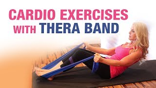 Cardio Exercises with Thera band - Mamtaa Joshi - Stretch Workout