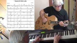 The Touch Of Your Lips - Jazz guitar & piano cover ( Ray Noble ) Yvan Jacques