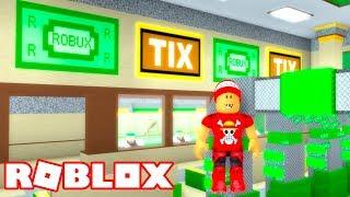 Roblox → FÁBRICA DE ROBUX E TICKETS (TIX) !! - Roblox Bank Factory Tycoon 🎮