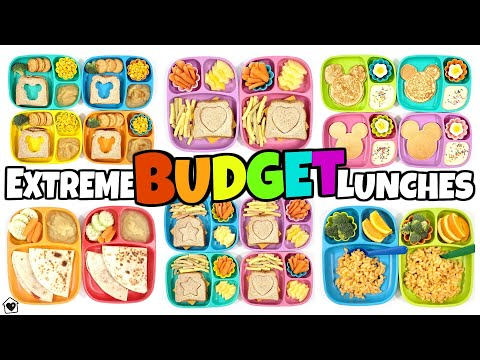 28 Lunches for $28 (Extreme Budget Back to School Lunches)