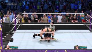 WWE 2K15 Online 1v1: VICTORY IN 8 SECONDS!!!