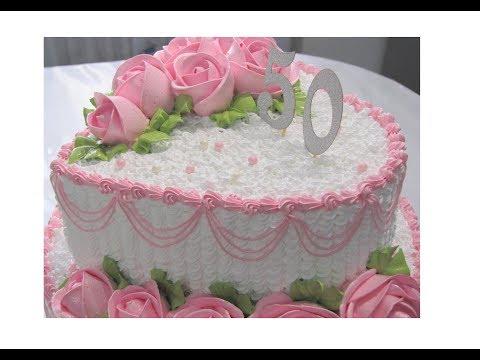 'Торт двух ярусный.''