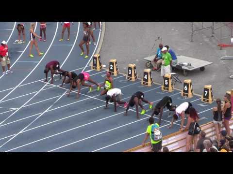 Noah Green nips Eric Edwards Jr. in 2017 NBNO 110m hurdles