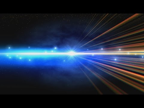 4K Rainbow Shining Space Rays Intro Darkness UHD HD Background Animation