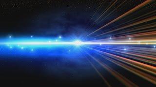4K arco iris Brillando Espacio los Rayos de Introducción de la Oscuridad UHD HD de Animación de Fondo AA VFX