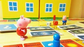 Swinka Peppa bajka po polsku - Świnka Peppa gra w Eurobiznes