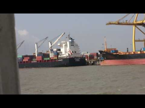 The beautiful port of Chittagong, bangladesh
