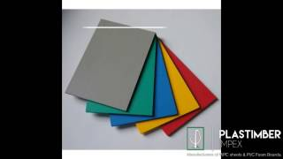 PVC FOAM SHEET AND WPC boards Applications And benefits