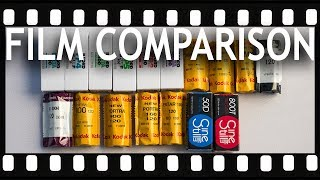 All Color and Black and White Film Stocks Compared