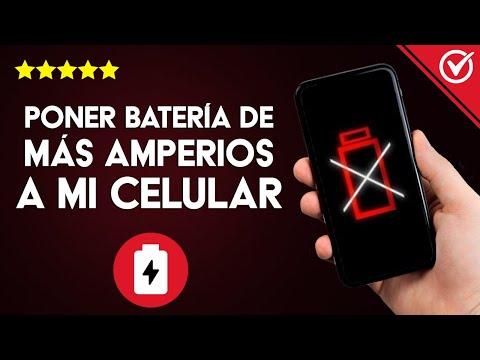 Cómo Poner una Batería de más Amperios o Mayor Capacidad a mi Celular