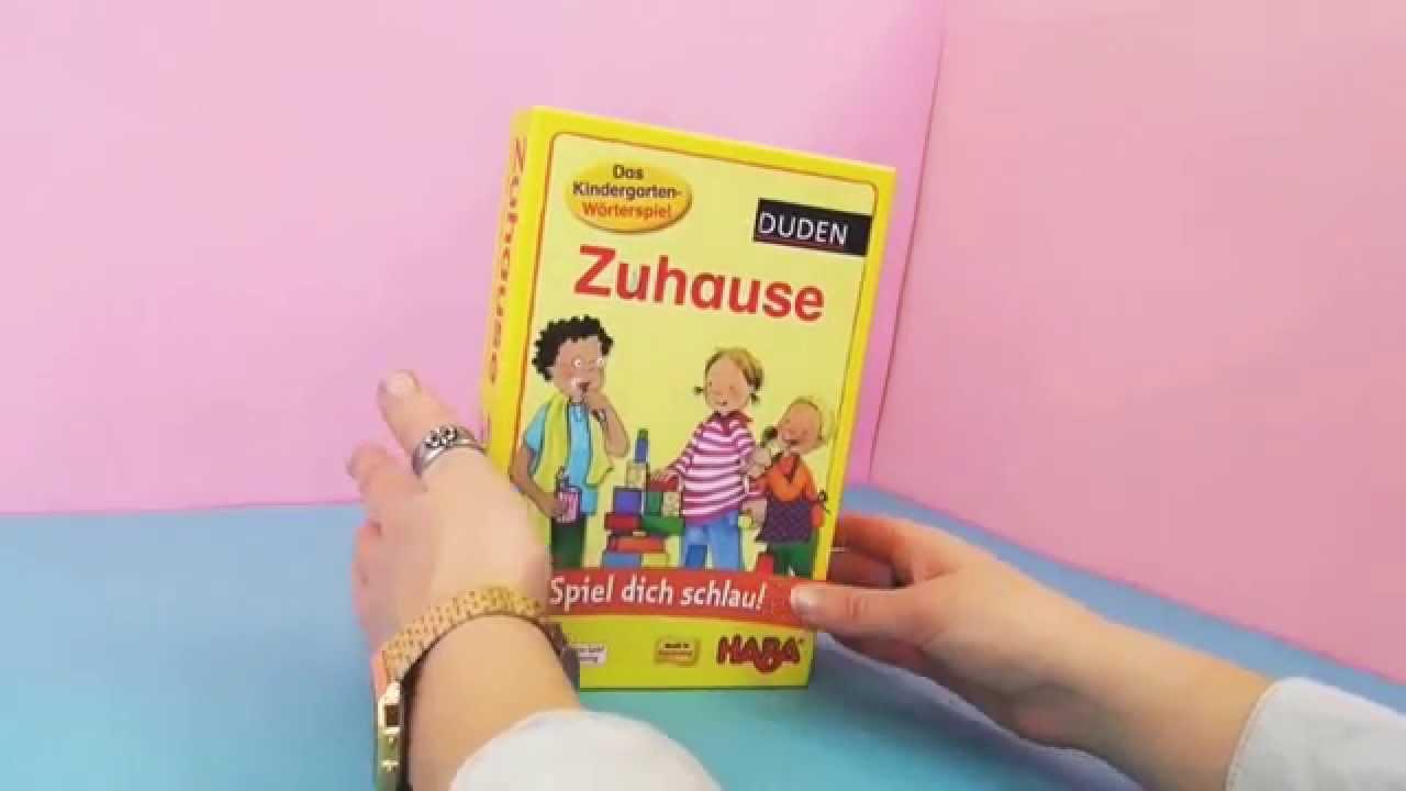Kindergarten-Wörterspiel von Haba \