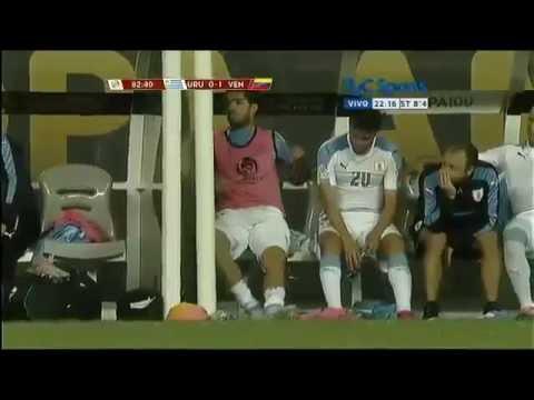 Суарес в бешенстве от вылета Уругвая с Кубка Америки