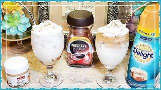 How To Make Dalgona Coffee    DALGONA ICED COFFEE RECIPE ☕ Dalgona Coffee 2 Ways My Way/w Twist