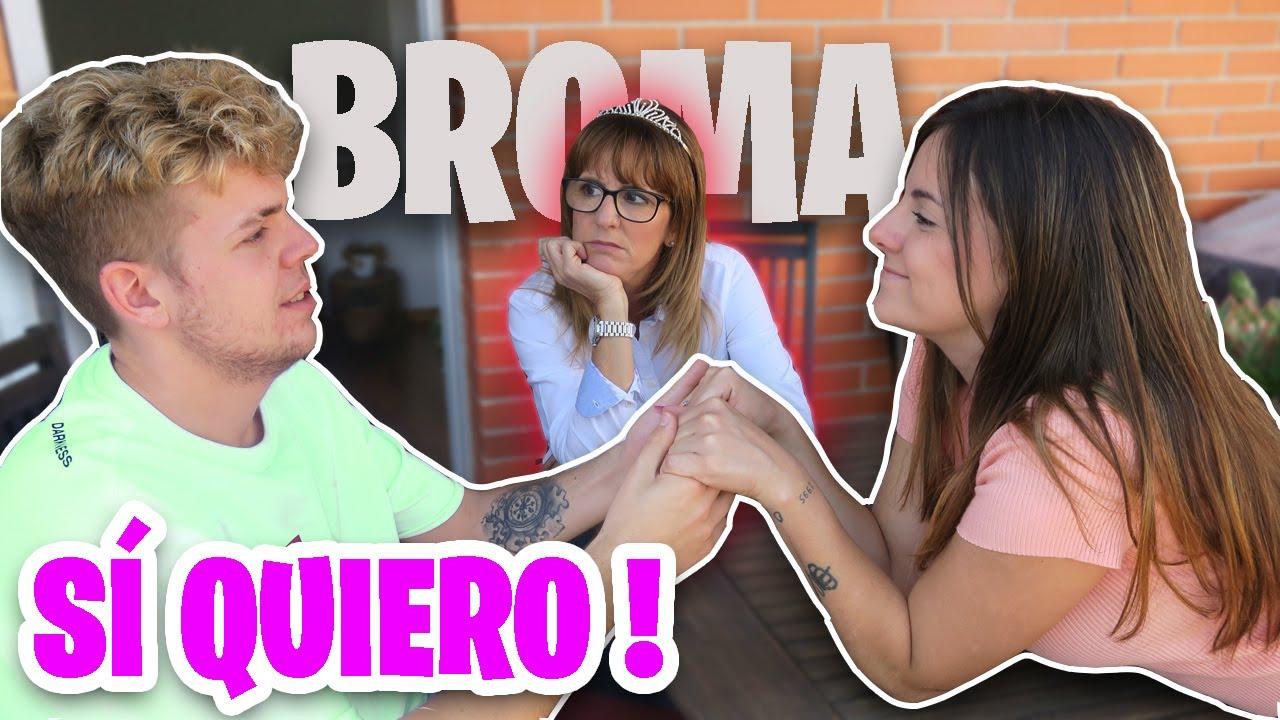LA BODA DE NUESTROS SUEÑOS | BROMA A MI MADRE  ft. MamaGigiis y Oscarito * Gigiis