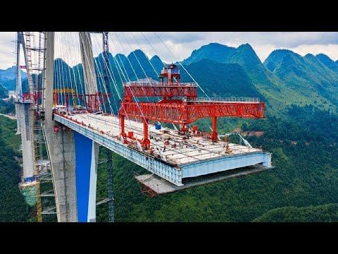 World Amazing Modern Bridge Construction Machines Technology - Biggest Heavy Equipment Working