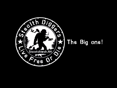 #89 The big one -  4 days of metal detecting fun  NH colonial cellar holes movie film Hoover boys