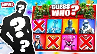 FORTNITE *NEW* 1v1 GUESS WHO CHALLENGE! (Fortnite Custom Game)
