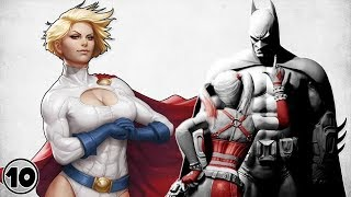 Top 10 Super Heroes Harley Quinn Respects