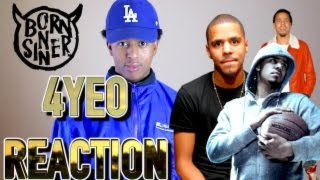 J. COLE - 4 YOUR EYEZ ONLY REACTION