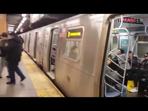 NYC Subway: Kawasaki R160B N Train Departs 36th Street