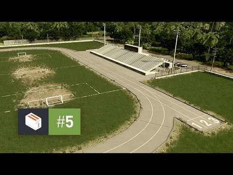 Cities Skylines: Seenu — EP 5 — Football Stadium