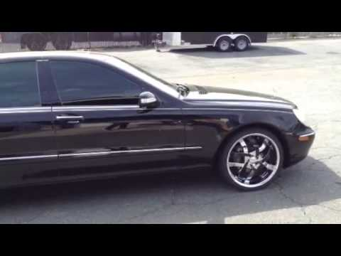 Charlotte Rimtyme Mercedes Benz S430 20 Quot Velocity Rims