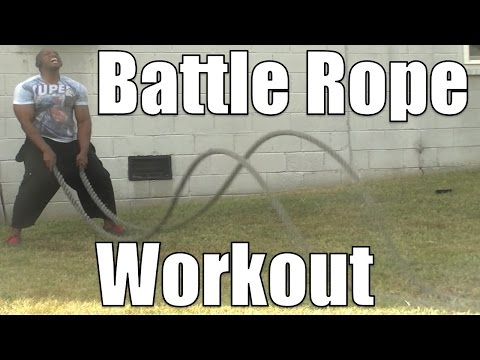 The Toughest Battle Rope Workout on YouTube (Only 11 minutes)