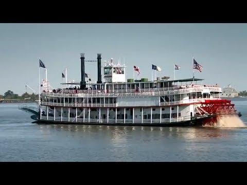 Natchez River Boat - N...