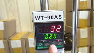 WT-90AS leather bronzing/Creasing machine,hot foil stamping machine,110V/220V