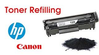 HP TONER REFILLING 12A / Canon 303