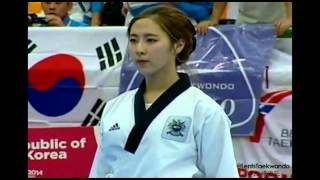 GOLD - World TKD Championships 2014 - Ind.F.U30 - Korea - P2 + P5