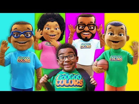 Where are You Song! (Goo Goo Toonz Family Finger Morning Routine)