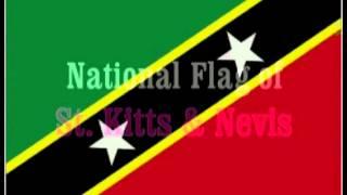National Flag of St. Kitts & Nevis