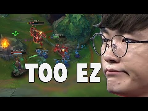 "When Faker Does His ""Playmaker"" Moves Again... 