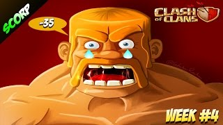 Clash Of Clans - TOP 5 FUNNY FAILS/ TH10 & TH11/ WEEK #4