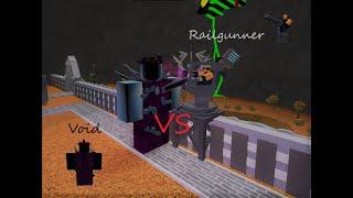 [ROBLOX] Tower Battles Railgunner vs Void (Feat: Josh Mats)