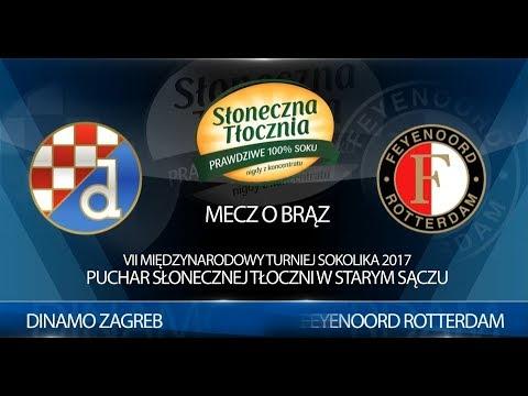 U-10: Dinamo Zagreb - Feyenoord Rotterdam 18.06.2017r. Sokolik 2017 (mecz o brązowy medal)