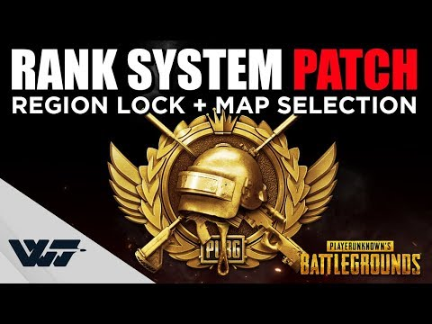 PATCH GUIDE: Ranking system, Region lock, Map selection and more - PUBG
