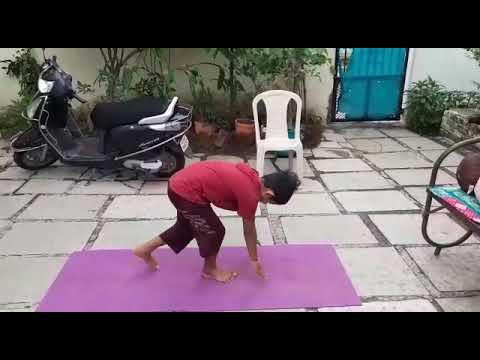 surya namaskarabhaycharan on yoga day  youtube
