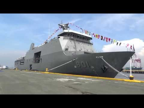 Navy commissions first landing dock vessel