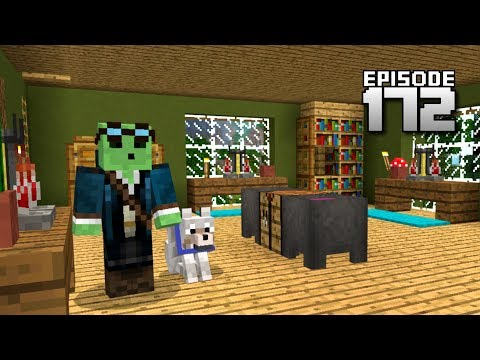 Let's Play Minecraft PE - Ep.172 : Research Lab!