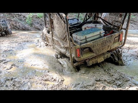 Honda Pioneer 1000 Gets BURIED In Quicksand!!