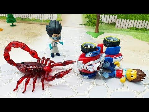 Мультики про машинки с игрушками Щенячий Патруль - Пушка! Игрушечное видео смотреть онлайн